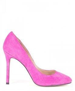 Pantofi stiletto din piele naturala Roz - Incaltaminte - Incaltaminte / Pantofi cu toc