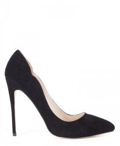 Pantofi stiletto negri Negru - Incaltaminte - Incaltaminte / Pantofi cu toc