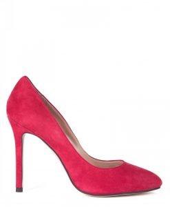 Pantofi stiletto piele naturala Rosu - Incaltaminte - Incaltaminte / Pantofi cu toc