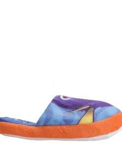 Papuci copii Finding Dory albastri cu portocaliu - Incaltaminte Copii - Papuci copii