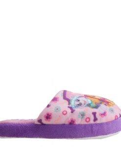 Papuci copii Paw Patrol roz cu mov - Incaltaminte Copii - Papuci copii