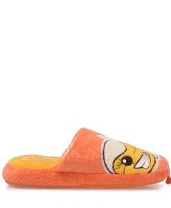 Papuci copii Street Puppet portocalii - Incaltaminte Copii - Papuci copii