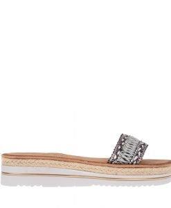 Papuci dama Alvarez negri - Incaltaminte Dama - Papuci Dama