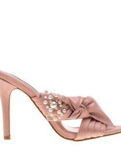 Papuci dama Gemma roz - Incaltaminte Dama - Papuci Dama