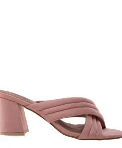 Papuci dama Rebecca roz - Incaltaminte Dama - Papuci Dama
