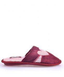 Papuci dama Rox Collection 11 bordo - Promotii - Lichidare Stoc