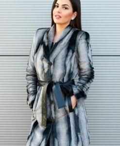 Pardesiu PrettyGirl Aristocratic Women Grey - Paltoane -