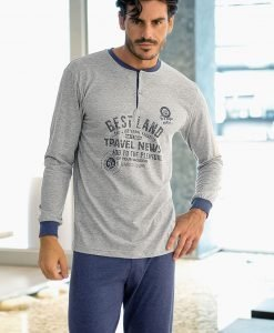 Pijama barbateasca Leon - Lenjerie pentru barbati - Pijamale