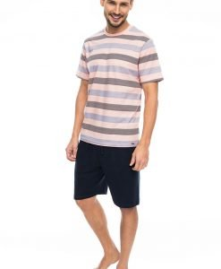 Pijama barbateasca Pink stripes - Lenjerie pentru barbati - Pijamale