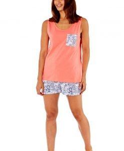 Pijama dama Paisley din bumbac - Lenjerie pentru femei - Pijamale dama