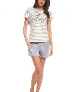 Pijama dama Provence gri - Lenjerie pentru femei - Pijamale dama