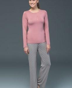 Pijama dama Rose - modal - Lenjerie pentru femei - Pijamale dama