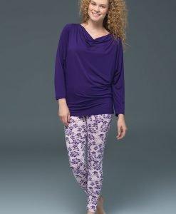 Pijama dama Viola - modal - Lenjerie pentru femei - Pijamale dama