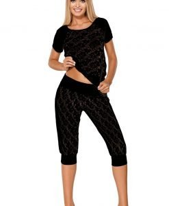 Pijama provocatoare Thelma Black - Lenjerie pentru femei - Pijamale dama