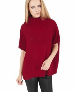 Poncho tricotat dama - Pulovere si cardigane - Urban Classics>Femei>Pulovere si cardigane