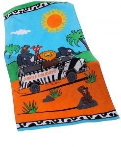 Prosop plaja copii Jungle - Costume de baie - Accesorii de baie