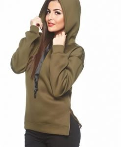 Pulover PrettyGirl Basic Wonder DarkGreen - Pulovere -