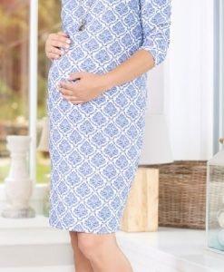 Rochie Blue Dream - Produse > Haine pentru gravide > Rochii -