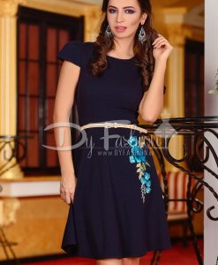 Rochie Happily Dark Blue - ROCHII - Rochii Office