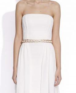 Rochie ampla cu corset Crem - Imbracaminte - Imbracaminte / Rochii de seara