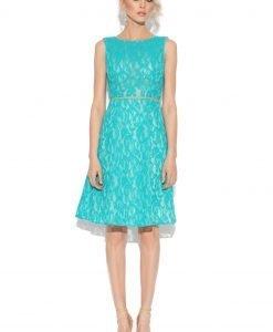 Rochie ampla din dantela Albastru - Imbracaminte - Imbracaminte / Rochii de seara