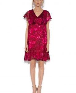 Rochie ampla mini din vascoza cu matase Imprimeu - Imbracaminte - Imbracaminte / Rochii de seara