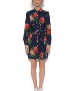 Rochie camasa cu print floral Imprimeu - Imbracaminte - Imbracaminte / Rochii de zi