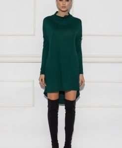 Rochie casual asimetrica Verde - Imbracaminte - Imbracaminte / Rochii de zi