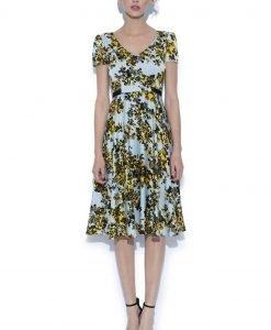 Rochie clos cu print floral Imprimeu - Imbracaminte - Imbracaminte / Rochii de zi