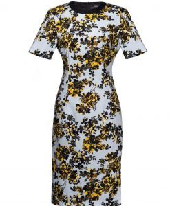 Rochie creion cu print floral Imprimeu - Imbracaminte - Imbracaminte / Rochii de zi