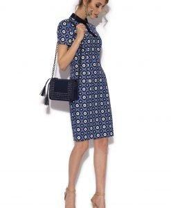 Rochie creion cu print retro Imprimat - Imbracaminte - Imbracaminte / Rochii de zi