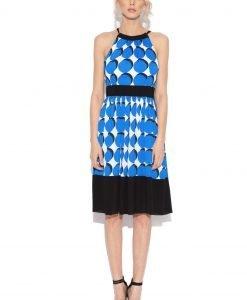 Rochie cu buline albastre Buline - Imbracaminte - Imbracaminte / Rochii de zi