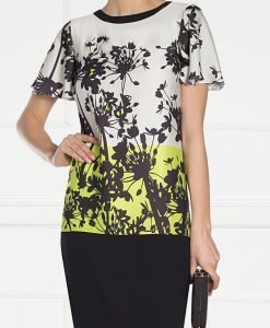 Rochie cu imprimeu grafic floral Print - Imbracaminte - Imbracaminte / Rochii de zi