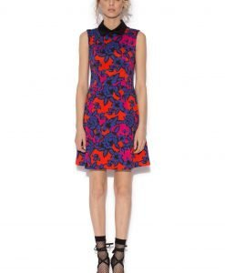 Rochie cu imprimeu multicolor Imprimeu - Imbracaminte - Imbracaminte / Rochii de zi