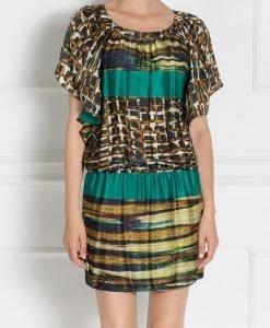 Rochie cu print din matase Imprimat - Imbracaminte - Imbracaminte / Rochii de zi