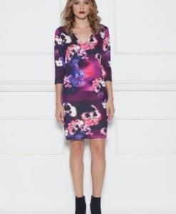 Rochie cu print floral si decolteu in V Print - Imbracaminte - Imbracaminte / Rochii de zi