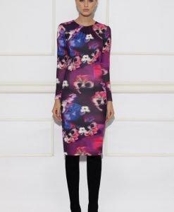 Rochie cu print floral si maneca lunga Print - Imbracaminte - Imbracaminte / Rochii de zi