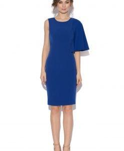 Rochie de cocktail asimetrica Albastru - Imbracaminte - Imbracaminte / Rochii de seara