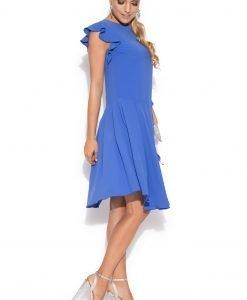 Rochie de cocktail asimetrica Albastru electric - Imbracaminte - Imbracaminte / Rochii de seara