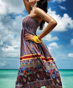 Rochie de plaja 2 in 1 Clarinda din colectia Vacanze - Costume de baie - Accesorii de baie