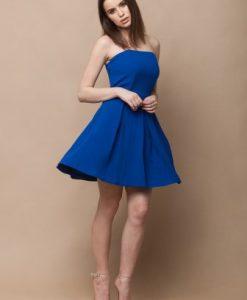 Rochie de seara albastra ROSA - BLUE - Rochii de seara -