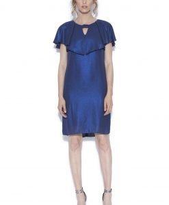 Rochie de seara albastru sidef Bleumarin - Imbracaminte - Imbracaminte / Rochii de seara