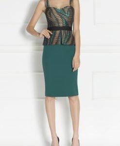 Rochie de seara cu bustiera incorporata Verde - Imbracaminte - Imbracaminte / Rochii de seara