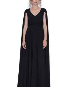 Rochie de seara cu capa Negru - Imbracaminte - Imbracaminte / Rochii de seara