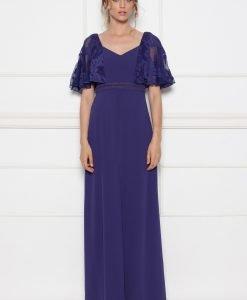Rochie de seara cu maneci din dantela Violet - Imbracaminte - Imbracaminte / Rochii de seara