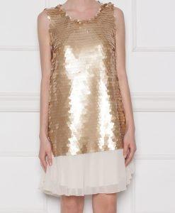Rochie de seara cu paiete Auriu - Imbracaminte - Imbracaminte / Rochii de seara
