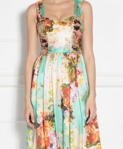Rochie de seara cu print floral Imprimat - Imbracaminte - Imbracaminte / Rochii de seara