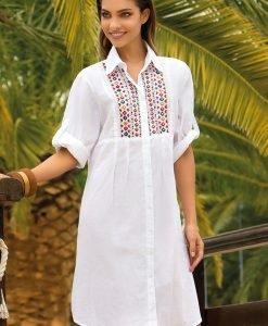 Rochie de vara Noemi din colectia Iconique din bumbac - Costume de baie - Rochii si fuste