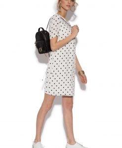 Rochie de zi cu buline Buline negre - Imbracaminte - Imbracaminte / Rochii de zi