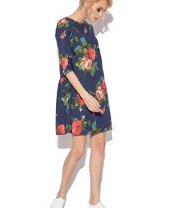 Rochie de zi cu trandafiri Imprimeu - Imbracaminte - Imbracaminte / Rochii de zi